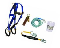 Falltech 8593a FT Basic Harness with Roofer's Kit, Universal