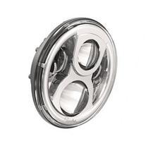 JW Speaker 8700 Evolution 2 - 7 Round LED Headlight - Chrome