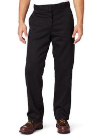 Dickies Mens Original 874 Work Pant, Black, 28x30
