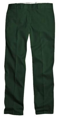 Dickies 874GH 33 34 Mens Plain Front Work Pant Hunter Green