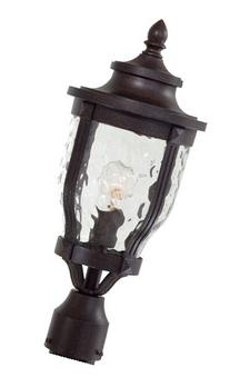 Minka Lavery 8766-166, Merrimack, 1 Light Post Mount, Corona