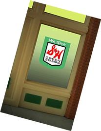 8890 S&H Green Stamps Window Sign by Miller Signs