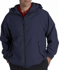 Ultraclub 8908 UC Hooded Zip Jacket - Navy - L