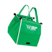 Telebrands 8991-6 Grab Bag Reusable Shopping Bag, Green
