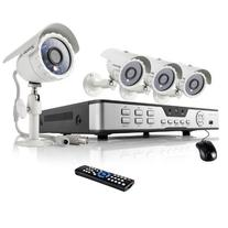 ZMODO 8Channel D1 DVR Security Camera System w/ 4 outdoor
