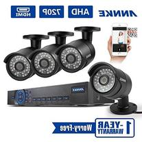 Annke 8CH 1080N DVR/1080P NVR Security System and  1.3MP