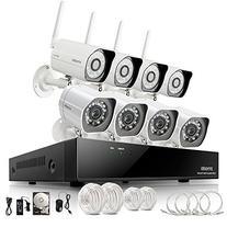 Zmodo 8CH NVR 4 Wireless + 4 sPoE Network 720P HD IP
