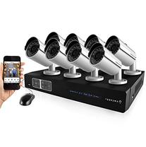 Amcrest 720P 8CH Tribrid  Video Security System - 8 1.0 MP