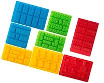 Bargain Paradise Silicone Molds Building Blocks and Robots,