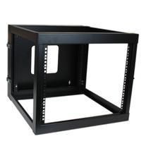 StarTech.com 8U 22-Inch Hinged Open Frame Rack Cabinet