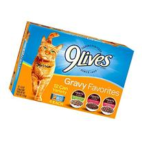 9 Lives Daily Essentials 3 Flavor Tender Slices Variety Pack