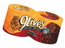 9 Lives Flakes of Real Tuna  4 pk