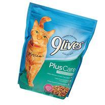 9 Lives Plus Care Cat Food, 18 Ounce -- 6 per case