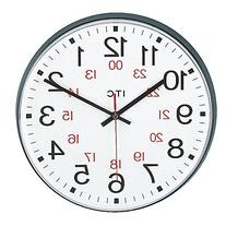 INFINITY/ITC 90/1224-1 Combination 12/24 Hour Clock, 12""