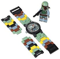 LEGO Kids' 8020363 Star Wars Boba Fett Watch with Link