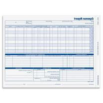 Adams 9032 - Weekly Expense Report Forms, Two-Part