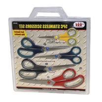 IIT 90450 5 Piece Stainless Scissors Set