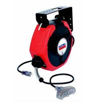 Lincoln 91029  Cord Medium Duty Reel with Triple Tap, 50-