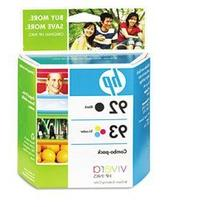 HP NO 92 93 Ink Cart Cmyk Combo Pack C9513BN