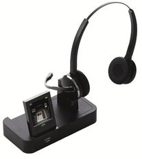 Jabra PRO 9460 Duo Wireless Headset with Touchscreen for