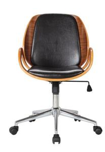 Boraam 97911 Mira Desk Chair, Black