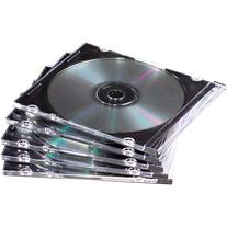 Fellowes 98316 SLIM JEWEL CASES ARE MADE OF DURABLE PLASTIC