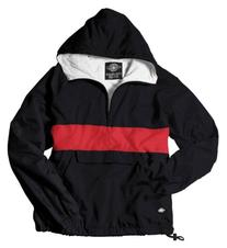 Charles River Apparel 9908 Classic CRS Pullover, Black / Red