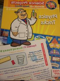 A+ Educational Workbooks ~ Science Projects