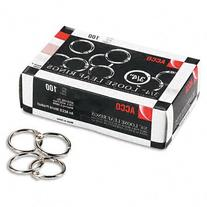 ACCO Products - ACCO - Metal Book Rings, 3/4amp;quot;