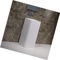 ADM Bathroom Desing Glossy White Stone Resin Sink DW-107