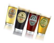 ARC International Luminarc Irish Beer Label Pub Beer Glass,