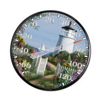 AcuRite 01780 12.5-Inch Wall Thermometer, Soon the Light