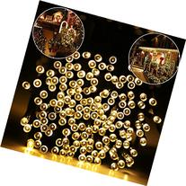 ADDLON Solar Lights Outdoor 59ft 100 LED Fairy Lights,