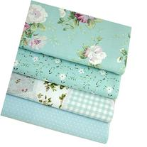 Aisa 50x50cm Blue Series Fabric Bundles Flower Printed