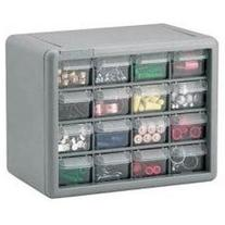 Akro-Mils 10716 Drawer Cabinet - 8.5 x 6.38 - 16 Compartment