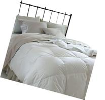 Superior Solid White Down Alternative Comforter, Duvet