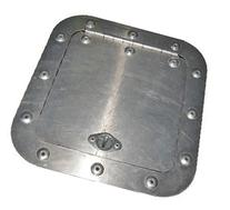 "Aluminum Access Panel Size: 6""x6"