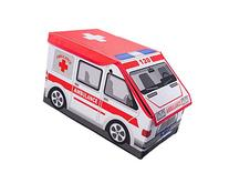 Ambulance Collapsible Toy Storage Box and Closet Organizer