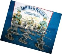American Civil War Confederate Infantry By Armies in Plastic