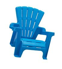 American Plastic Toy Adirondack Chair Blue