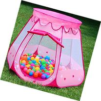 Amtinyjoy Pink Princess Tent Indoor and Outdoor 1-8 Years