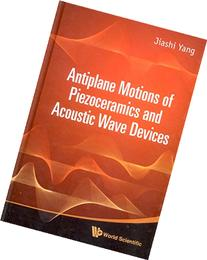 Antiplane Motions of Piezoceramics and Acoustic Wave Devices