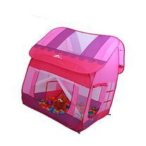 Aole-hw Kids Princess Girls Pop up Big Playhouse Play Tent