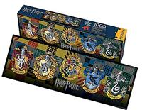Aquarius Harry Potter Crests Slim Puzzle
