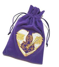 FindSomethingDifferent Archangel Michael Tarot Bag Velvet