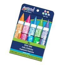 ArtSkills Neon Jumbo Glitter Glue, 5 Pieces
