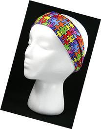 Autism Awareness Headband/Headwrap
