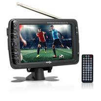 Axess 7-Inch, LCD TV with ATSC Tuner, Rechargeable Battery