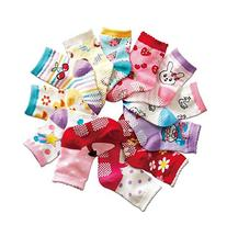 B&S FEEL Baby's Color 12 Pairs Warm Cotton Socks