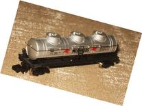 BACHMANN - N SCALE - 42' THREE DOME MOBILGAS TANK CAR # 5426